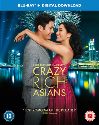 Crazy Rich Asians Blu-ray (2019) Constance Wu ***NEW***
