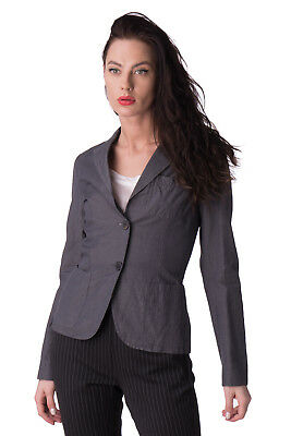 JUCCA Blazer Jacket Size 40 S Linen Blend Single Breasted Made in Italy RRP €239