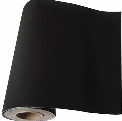 45CM*2M Self Adhesive Black Velvet Liner Roll for Jewelry Drawers Flock Decals