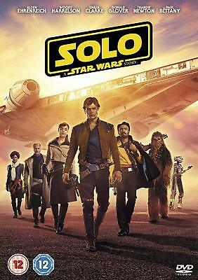 Solo A Star Wars Story DVD 2018 New Release & Free Same Day Dispatch Before 4PM