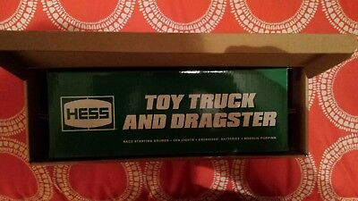 2016 HESS TOY TRUCK AND DRAGSTER in original shipping box