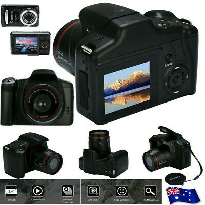 Digital Camera Full HD 1080P Professional Video Camcorder Vlogging Camera Home