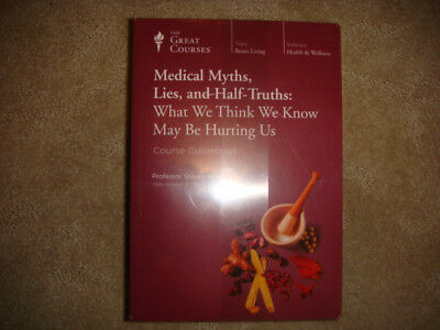 BRAND NEW MEDICAL MYTHS, LIES, & HALF-TRUTHS The Teaching Co Great Courses CD