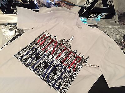 3590e6ae1e58 Palace Skateboards Ss16 Xlarge White Winter London Tee T-Shirt Xl Black Tri  Ferg