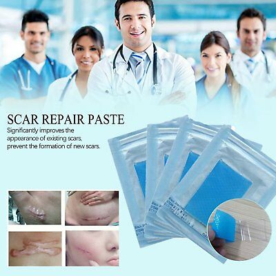 Scar Therapy Remove Trauma Burn Silicon Patch Reusable Acne Gel Skin Repair pad%