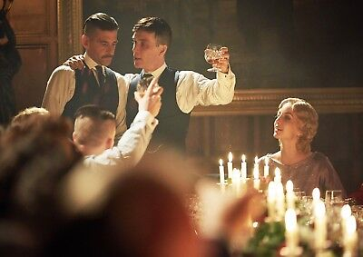 """Reproduction Peaky Blinders, """"Tommy, & Arthur"""" Poster, Home Wall Art"""