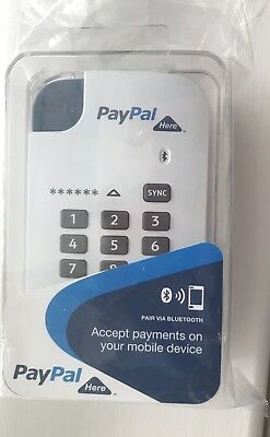 paypal here chip and pin card reader New & Unopened