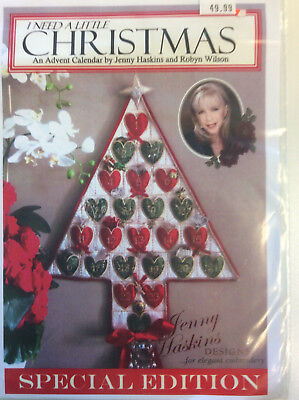 Jenny Haskins for Elegant Embroidery Designs - Christmas Advent Calendar