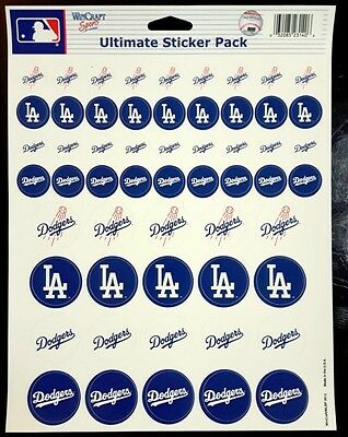c73a9047060 LOS ANGELES DODGERS Sticker Sheet MLB Baseball New Decals 8
