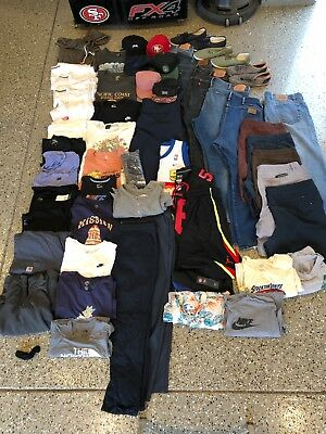 Lot Of Mens Clothing Name Brands ( No Reserve)