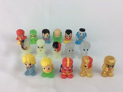 Ooshies Lot With Rare Gold Clear Glow In The Dark Marvel And More