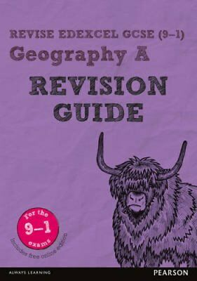 Revise Edexcel GCSE (9-1) Geography A Revision Guide (with free... 9781292133775