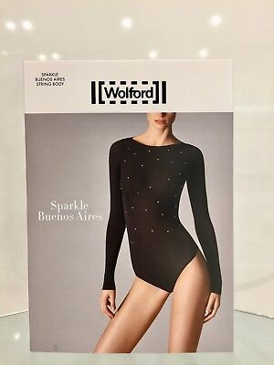 TOP- NWT IN BOX OFF WHITE LARGE WOLFORD BUENOS LISBON STRING BODY RRP £115