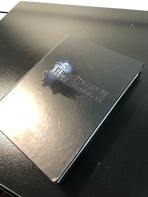 Guide officiel Final Fantasy XV/15 collector FR piggyback neuf sous blister
