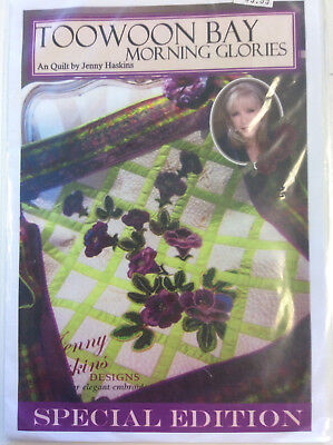 Jenny Haskins Designs Special Edition A Quilt - Toowoon Bay Morning Glories