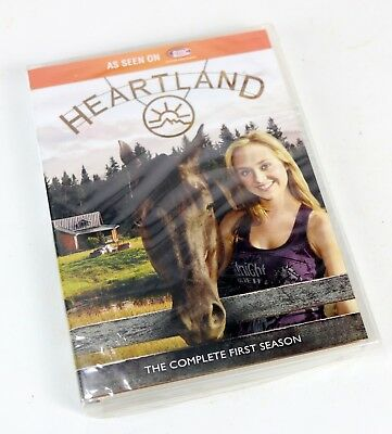 New - Heartland: The Complete First Season (DVD, 2012, 5-Disc Set)