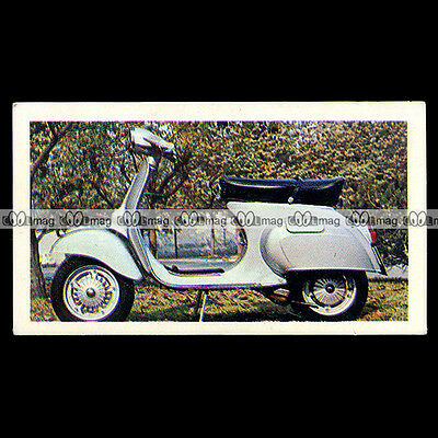 ★ VESPA 125 (SCOOTER) ★ Moto Sprint Candy Gum Chromos Motorcycle Cards #29
