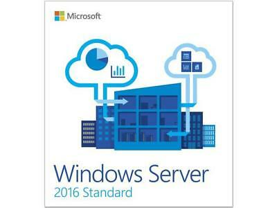 Windows Server 2016 Standard 64-bit License - Retail
