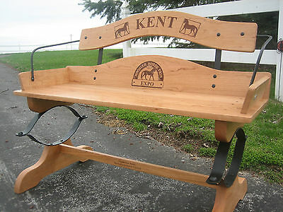 Buckboard Bench Kit With Oak Cut To Size And Drilled. Real Springs