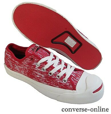 Women's Men's CONVERSE JACK PURCELL Red White Low Trainers Shoes SIZE UK 5