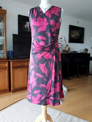 b6bb3d5ca7 MARISA AND MARIE Italian pink   black wiggle dress size med 12-14