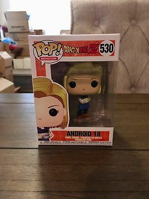 Funko Pop! Dragon Ball Z Android 18 Vinyl Figure #530