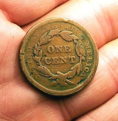 """~~  """"early Copper""""  1840 Us Large Cent  /  Penny  Type Set Coin  ~~"""