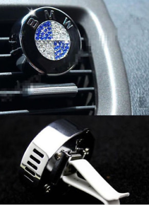 BMW Crystal Rhinestone Swarovski Car Air Freshener Design Decor Gift all series