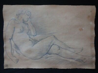 Old drawing,French school,old master,Rare,Antique,Original Graphite drawing.