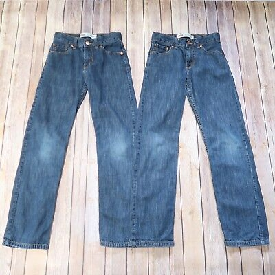 293a55166 FLYPAPER JEANS BOYS Size 12 Slim Boot Cut Distressed Lot Of 2 Pairs ...