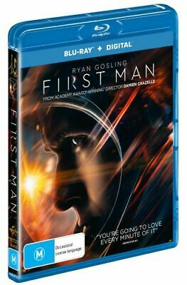 NEW First Man (Blu-ray/UV) Blu Ray Free Shipping