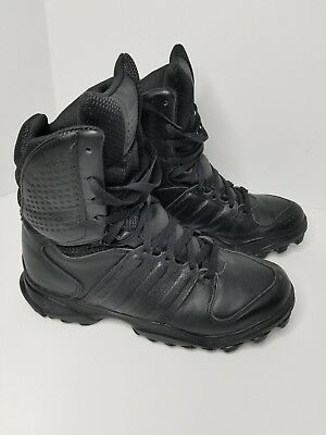 differently 8907c 29b9b adidas GSG 9.2 (807295) Waterproof Leather Black Military Tactical SWAT  Boots 10