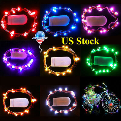 Birthday Party Christmas Waterproof Mini 2M Lenght Color LED Light Home Decor