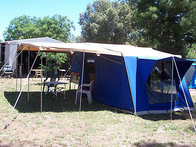Camper Trailer 7x4 by Travelling Trailers.