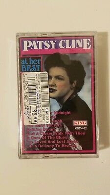 Patsy Cline - At her Best Cassette Tape 1992 Hollywood/IMG