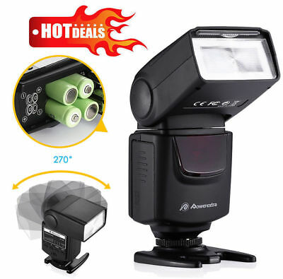 Flash Gun Speedlite DF-40 For Nikon & Canon DSLR Camera Pentax Fujifilm Olympus