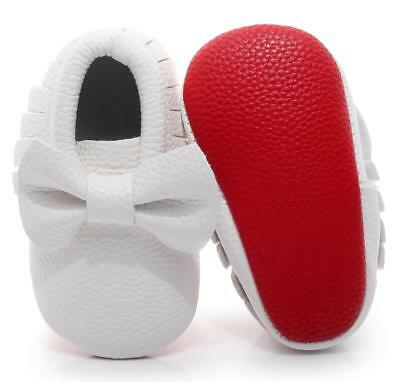 d7843d666dd FASHION NEW BABY Girls Boys Infant Toddler Genuine Leather Moccasins ...