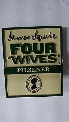 James Squire Beer Tap Badges Four Wives
