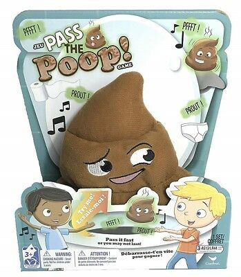 Pass A Poop Pass The Parcel Hot Potato Fun Game Family Children Play Kids Adults