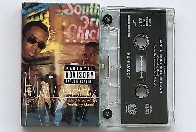 Puff Daddy CAN'T NOBODY HOLD ME DOWN (Cassette Single, 1996) Bad Boy Records