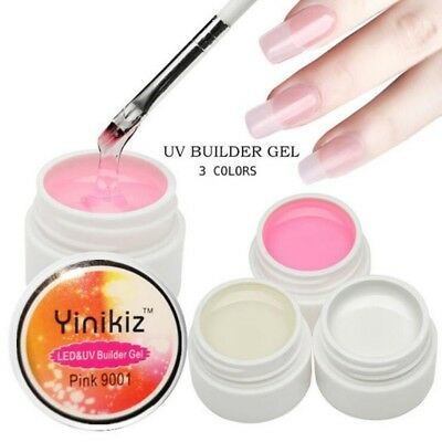 Fast Dry Led UV Nail Builder Gel Extension Sculpture Hard Jelly Gel Manicure EC