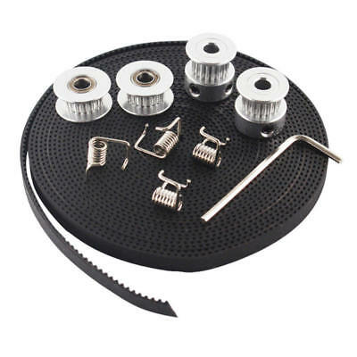 1 Set Durable GT2 Idler Timing Pulley Bearing 5mm Bore For 3D Printer 6mm Width