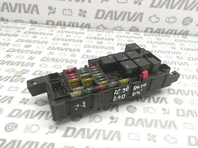 2004 volvo xc90 2 4 diesel engine fuse relay box fusebox control unit  30728008