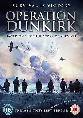 Operation Dunkirk DVD (2017) - The Man They Left Behind