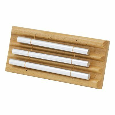 1PC Wooden Percussion Three Bar Chime Percussion 3 Toner Musical Instruments CO