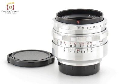 Very Good!! Carl Zeiss Jena Biotar 58mm f/2 M42 Mount Lens from Japan