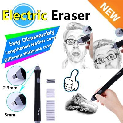 Easy Disassembly School Students Electric Eraser for Sketch Writing Drawing  57