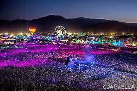 Coachella 2019 Weekend 1 GA Tickets with Shuttle Passes - 2 Wristbands