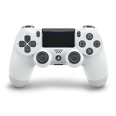 PS4 - Original Wireless DualShock 4 Pad #Glacier White V2 [Sony] Top Zustand