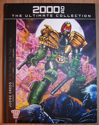 2000AD Ultimate Collection Issue10/Vol02: Judge Dredd, Return of the King. Hback